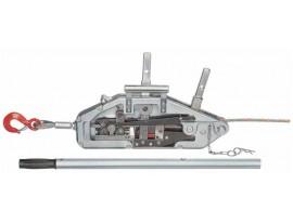 Лебедка рычажная МТМ ZNL-0,8 с крюком