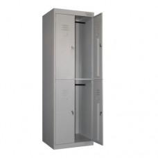 Металлический шкаф одежный ШРК-24/800 (сварной)
