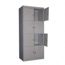 Металлический шкаф одежный ШРК-28/800 (в разборе)