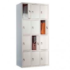 Металлический шкаф локер Практик LS(LE)-34